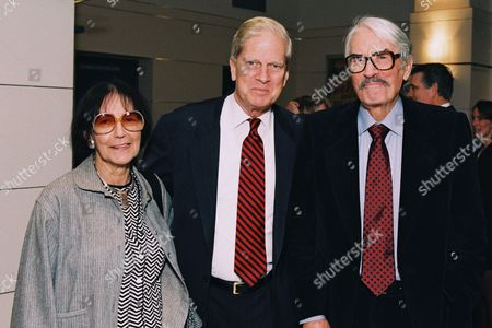 Fay Kanin, Dr. James H. Billington and Gregory Peck
