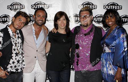 Raymundo Baltazar, Nick Verreos, Kristen Schaffer, Jay McCarroll