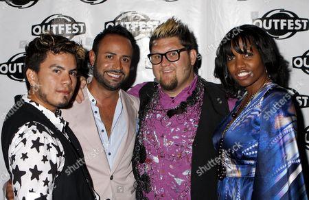 Stock Photo of Raymundo Baltazar, Nick Verreos, Jay McCarroll, Kara Saun