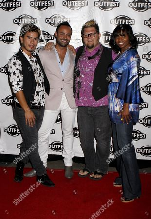 Editorial photo of Outfest Screening of Jay McCarroll's Documentary Eleven Minutes
