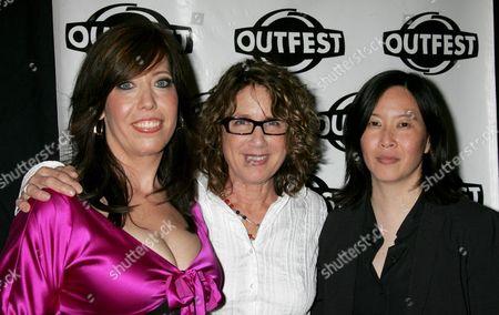 Stock Picture of Kristen Schaffer, Donna Deitch, Kim Yutani