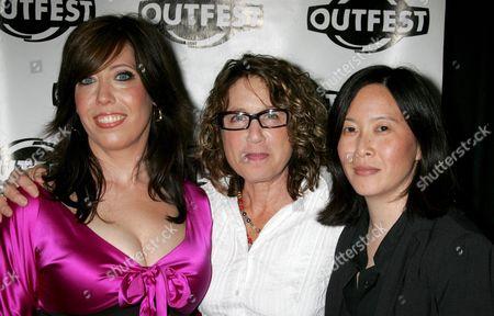 Stock Photo of Kristen Schaffer, Donna Deitch, Kim Yutani