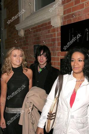 Roberta Howett, Tabby Callaghan and Rowetta Satchell