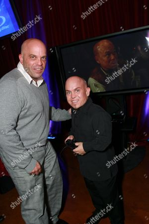 Lee Arenberg and Marty Klebba