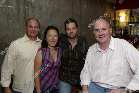 Rick Roskin, Jenna Adler, Michael Rapino and Don Muller