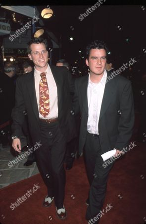Stock Image of Corin Nemec and Balthazar Getty