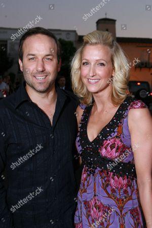 Stock Photo of David Haffenreffer and Lara Spencer