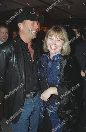 Bruce Willis and Tess Harper