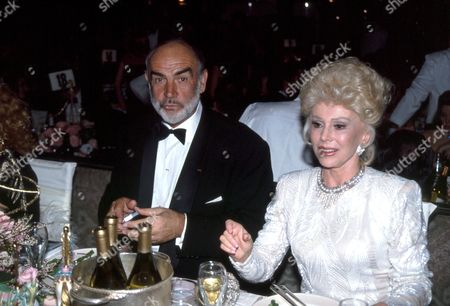 Sean Connery and Eva Gabor