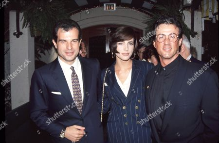 Massimo Ferragamo, Jennifer Flavin, Sylvester Stallone