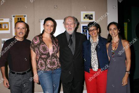 Stock Photo of Javier Cordero, Nefertiti Ingalls, Jacobo Morales, Paula Heredia, Marcela Goglio