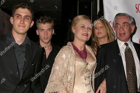 Producer Martin Bregman and family