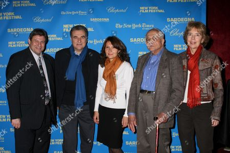 Richard Pena, Serge Toubiana, Laurence Braunberger, Andrew Sarris, Molly Haskell