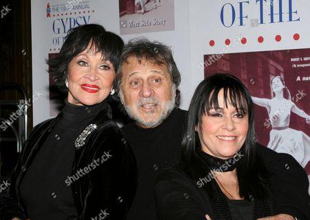 Chita Rivera, Tony Mordente, Lisa Mordente