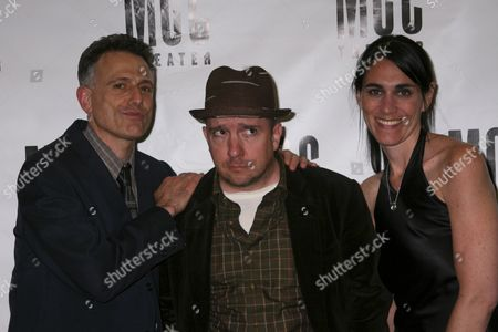 Stock Image of David Greenspan, Stephin Merritt, Leigh Silverman