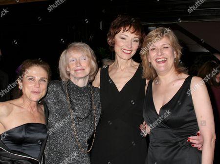 Tovah Feldshuh, Margaret Styne, Karen Akers, Karen Mason