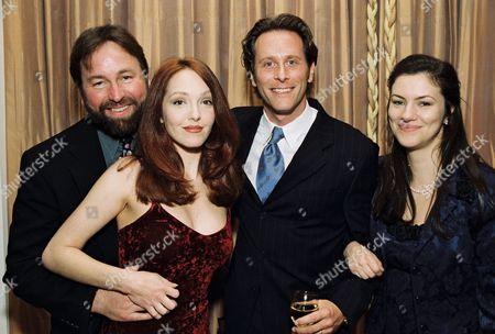 John Ritter, Amy Yasbeck, Steven Weber and Juliette Hohnen