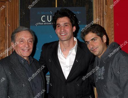 Al Martino, Robert Funaro, Michael Imperioli