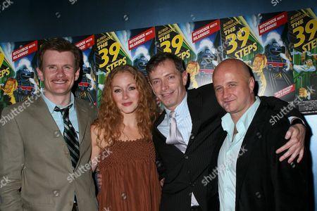 Charles Edwards, Jennifer Ferrin, Arnie Burton, Cliff Saunders