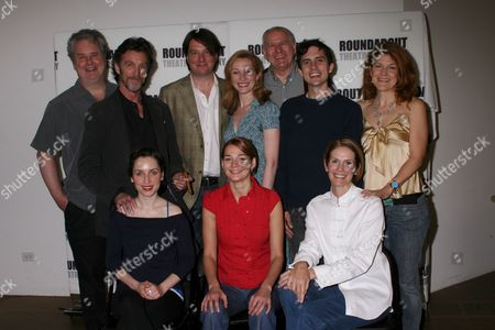 Stock Picture of Standing: Adam LeFevre, John Glover, Christopher Evan Welch, Kate Jennings Grant, Terry Beaver, Charles Socarides, Victoria Clark|Seated: Heather Burns, Zoe Lister-Jones, Julie Hagerty