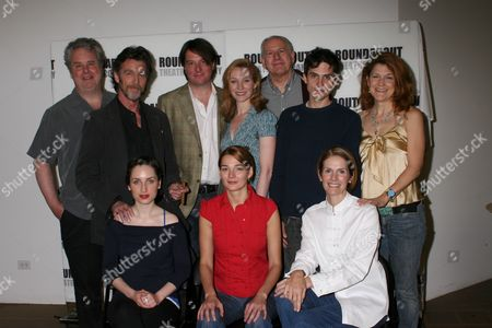 Stock Image of Standing: Adam LeFevre, John Glover, Christopher Evan Welch, Kate Jennings Grant, Terry Beaver, Charles Socarides, Victoria Clark|Seated: Heather Burns, Zoe Lister-Jones, Julie Hagerty