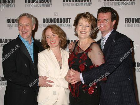 John Dossett, Kate Burton, Lynn Redgrave, Michael Cumpsty
