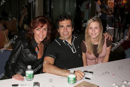 Stock Photo of Andrea McArdle, Mario Cantone, Stephanie Gatschet