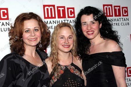 Geraldine Hughes, Morgan Hallett, Susan Lynch
