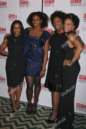Quincy Tyler Bernstine, Condola Rashad, Saidah Arrika Ekulona, Cherise Boothe