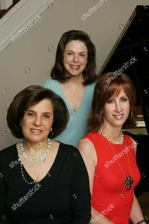 Wendy Goldberg, Susan Dolgen and Jamie McGurk