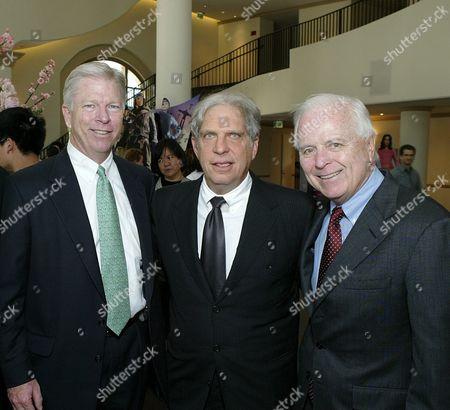 Richard Hartnack, Jonathan Dolgen and Richard Riordan