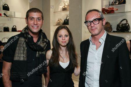 Stock Picture of Adam Drawas, Tara Lubin and Giacomo Nicolodi