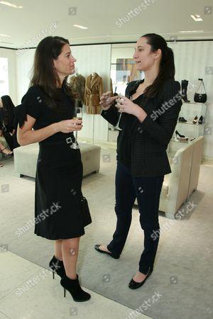 Katherine Ross and Bettina Korek