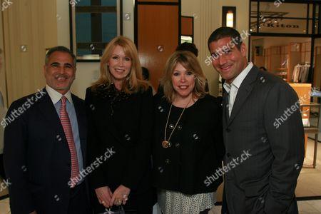 Alan and Susan Casden, Debbie Levin and Barry Bayat