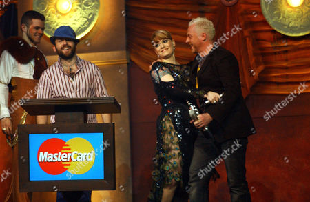 Baby Daddy (podium), Ana Matronic with Simon Pegg