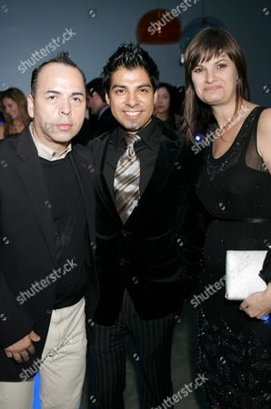 Stock Photo of Louis Verdad, Uriel Saenz, Jayne Seward