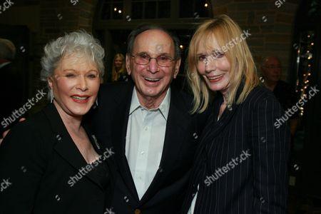 Hal & Eunice David with Sally Kellerman