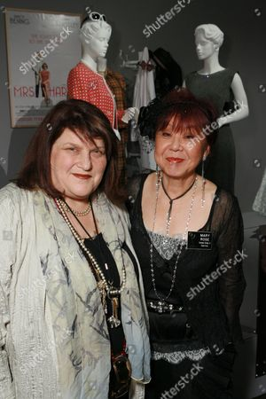 Costume Designer Julie Weiss and guest curator Mary Rose