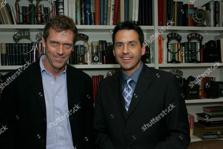 Hugh Laurie and Tony Potts