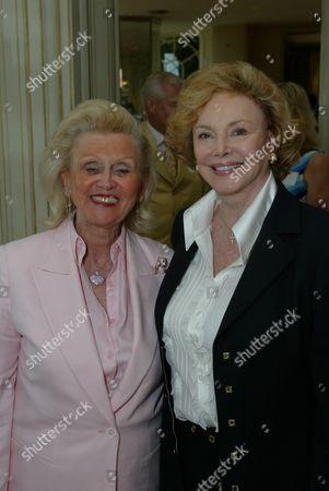 Barbara Davis and Barbara Sinatra