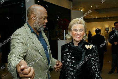 Howard Bingham and Barbara Davis