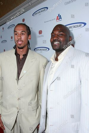 Shaun Livingston and Marcellus Wiley