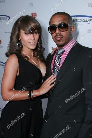 Stock Picture of Marlena Campbell and Marques Houston