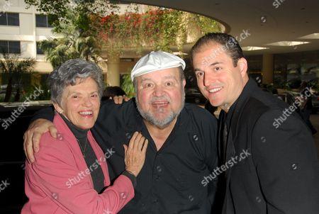 Carol Arthur, Dom DeLuise and son Michael