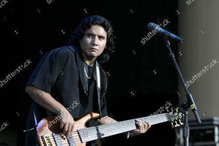 JoJo Garza of Los Lonely Boys