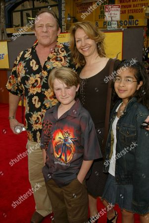 Stock Picture of Charles Haid and Family