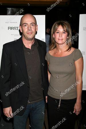 Stock Picture of Bob Yari and Amanda Harvey