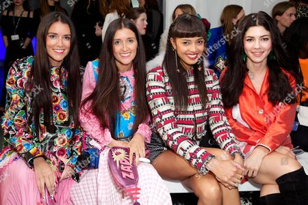 How Two Live - Stef and Jess Dadon with Invader Girl and Marina Lambrini Diamandis