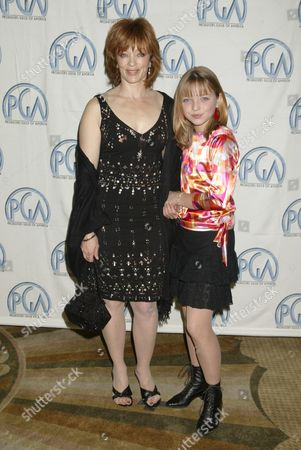 Francis Fisher and Daughter Francesca Fisher-Eastwood