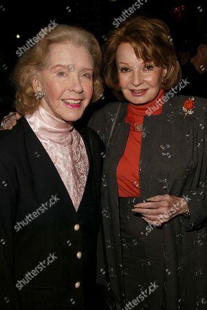 Marsha Hunt and Cora Sue Collins